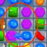 candy crush saga tips - make combinations with 5 candies