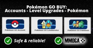 Pokemon GO - buy pokemon accounts or rare pokemon