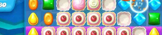 Candy crush soda saga how to deal with the cupcakes - tips guide