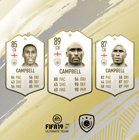 campbell fifa fut 19 icon