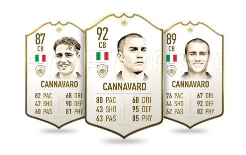 cannavaro fifa fut 19 icon
