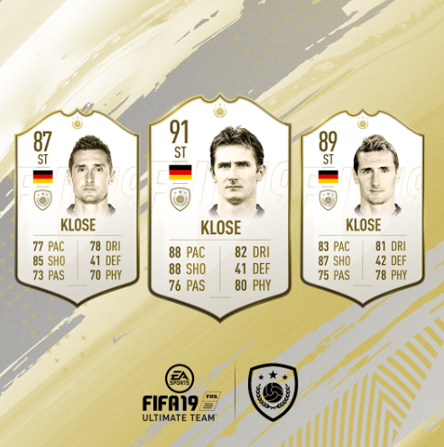 klose fifa fut 19 icon guide